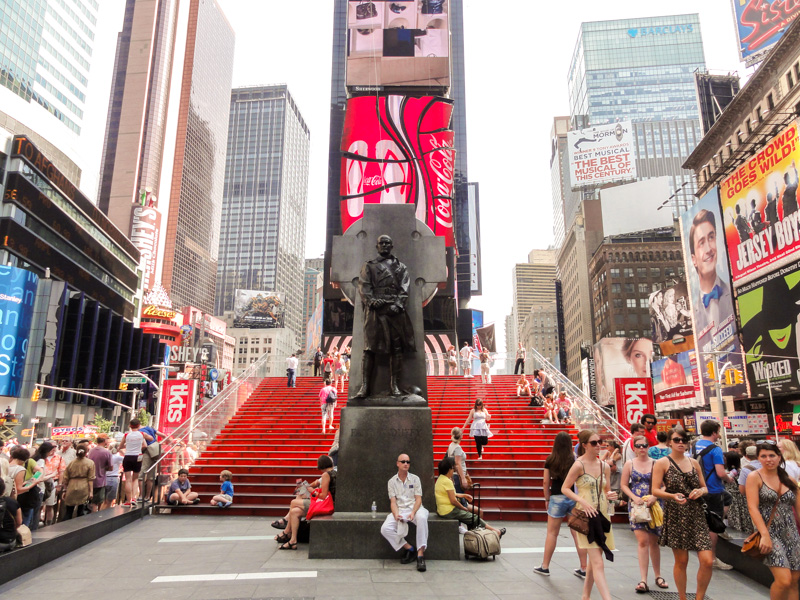 historical uncanny times square