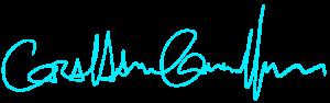 Graham signature teal