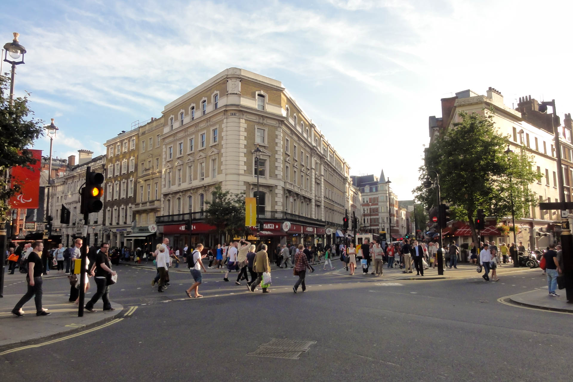 London Pedestrian Scramble