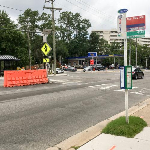 Arlington Columbia Pike Crosswalk Heroics