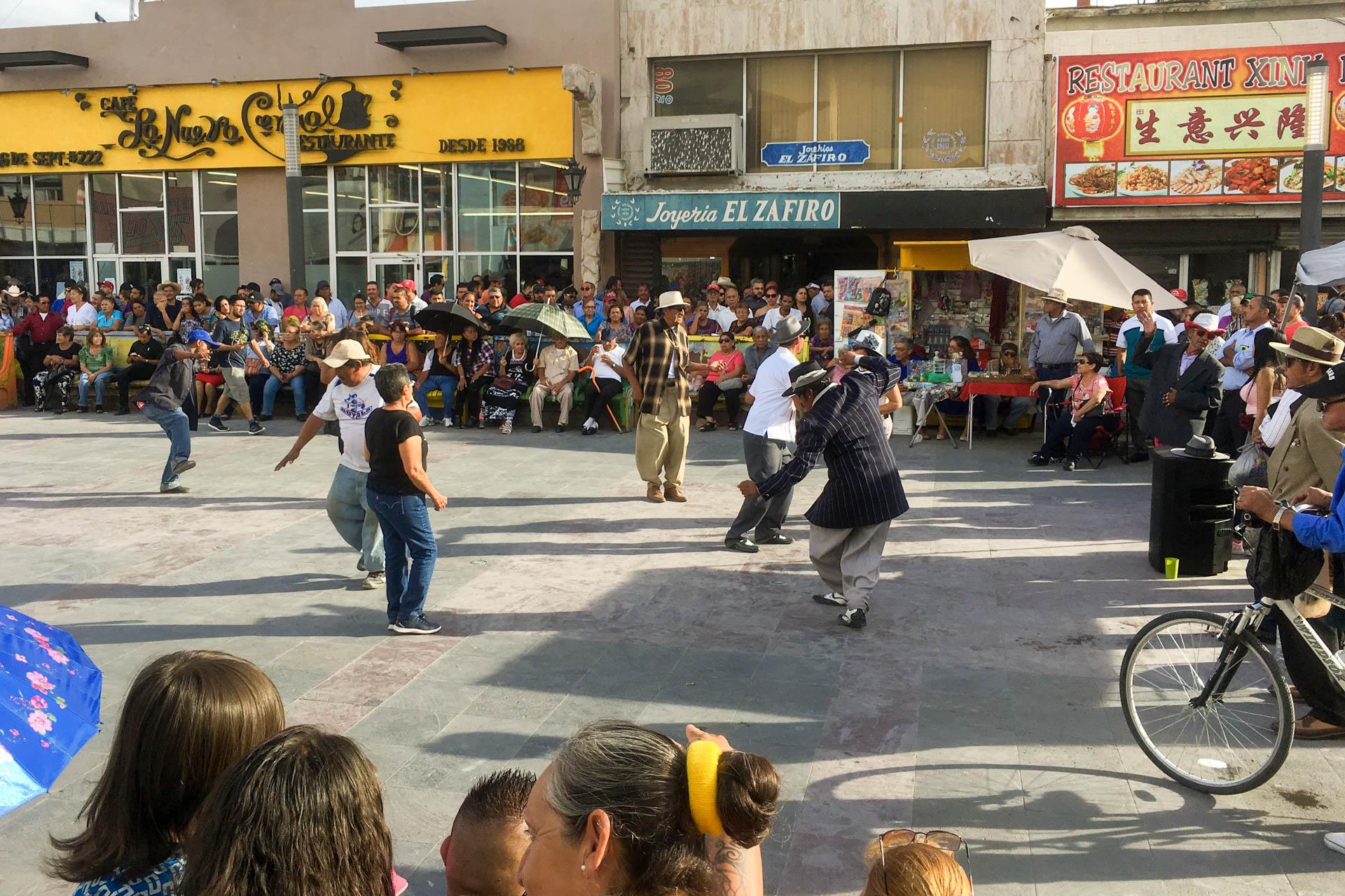 Juarez Dancing Complete Street