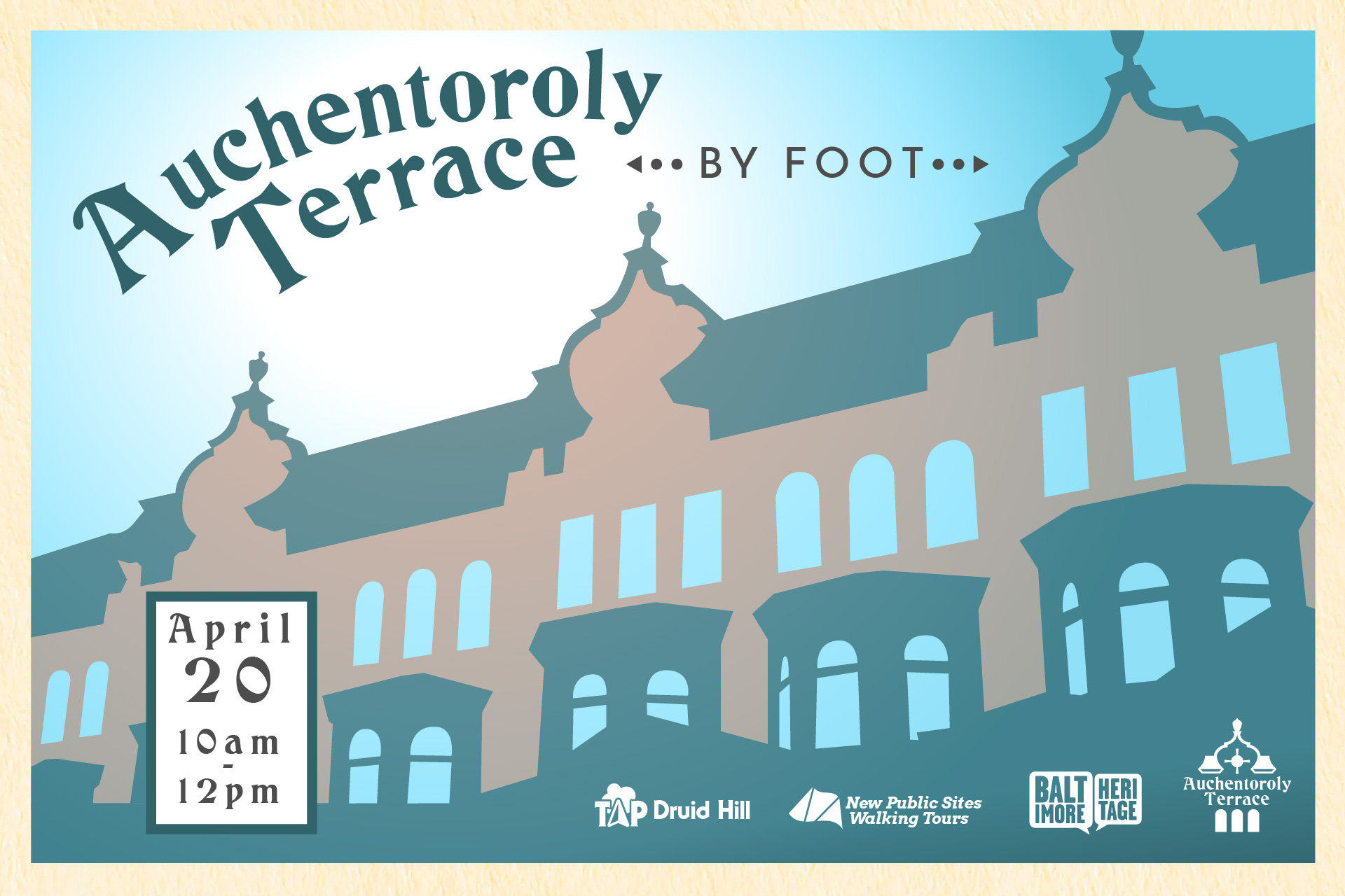 Auchentoroly Terrace by Foot